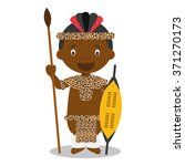 character from south africa....   Shutterstock .eps vector #371270173