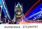 Magic Light Through Tower Bridge