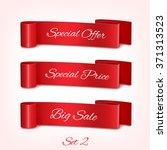 set of promo labels. eps10... | Shutterstock .eps vector #371313523