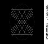 abstract vector illustration.... | Shutterstock .eps vector #371389303