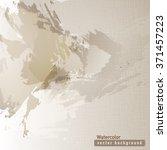 vector brown watercolor texture....   Shutterstock .eps vector #371457223