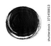 Black Ink Round Background...