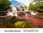 Waterfall On The Red Cristales...