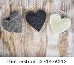 Three Hearts On  The Rustic...