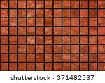 bright abstract mosaic brown... | Shutterstock . vector #371482537