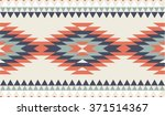vector seamless decorative... | Shutterstock .eps vector #371514367