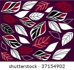 abstract autumn background | Shutterstock .eps vector #37154902