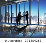 businessmen deal business... | Shutterstock . vector #371564263