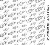 outline oak leaf pattern with... | Shutterstock .eps vector #371614633