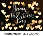happy valentines day... | Shutterstock .eps vector #371629093