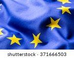 eu flag. euro flag. flag of... | Shutterstock . vector #371666503