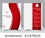 abstract flyer design... | Shutterstock .eps vector #371670613
