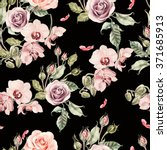 Seamless Pattern With Orchid...