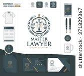 law logo law firm law office... | Shutterstock .eps vector #371829367