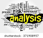 word cloud with analysis... | Shutterstock . vector #371908957