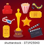 vector illustration of big... | Shutterstock .eps vector #371925043