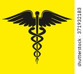caduceus medical symbol ii is... | Shutterstock .eps vector #371932183
