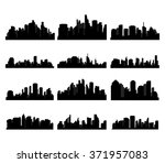 city skyline and metropolis | Shutterstock .eps vector #371957083