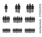 population people icon... | Shutterstock .eps vector #372024553
