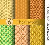 thai  pattern | Shutterstock .eps vector #372049183