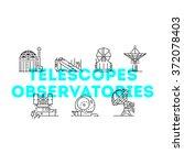 universe  celestial ... | Shutterstock .eps vector #372078403
