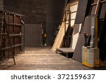 theater storage space | Shutterstock . vector #372159637