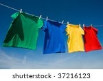 a group of primary colored t... | Shutterstock . vector #37216123