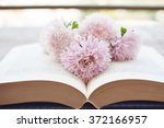 flowers on the book | Shutterstock . vector #372166957