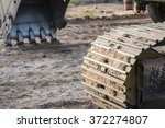 Caterpillar Tractor Wheel And...