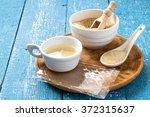 different types of gelatin ... | Shutterstock . vector #372315637