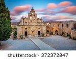 arkadi monastery  crete  | Shutterstock . vector #372372847