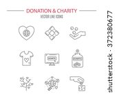 graphic elements for nonprofit... | Shutterstock .eps vector #372380677