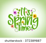 Spring Time Vector Design With...