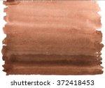 abstract watercolor brown... | Shutterstock . vector #372418453