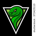 Viper Snake Sports Mascot Logo...