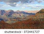 panorama of grand canyon at... | Shutterstock . vector #372441727