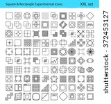 vector geometric icons for ux...