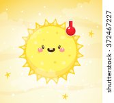 emotional weather  thermometer... | Shutterstock .eps vector #372467227