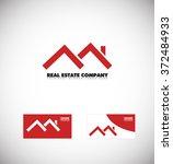 vector company logo icon... | Shutterstock .eps vector #372484933