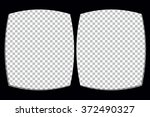 virtual reality glasses screen... | Shutterstock .eps vector #372490327
