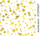 gold glittering foil seamless... | Shutterstock . vector #372505837