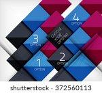 paper style design templates ...   Shutterstock .eps vector #372560113
