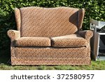 bulk garbage for collection at...   Shutterstock . vector #372580957