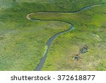 aerial panoramic view of the... | Shutterstock . vector #372618877
