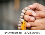 beads rosary | Shutterstock . vector #372660493