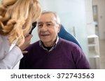 senior looks in instrument for... | Shutterstock . vector #372743563