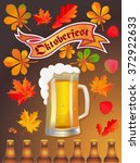 celebration oktoberfest with...   Shutterstock .eps vector #372922633