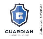 security company logo ready to... | Shutterstock .eps vector #372931687
