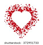 valentine's day abstract... | Shutterstock .eps vector #372951733