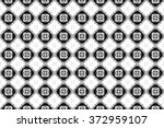 black pattern on the glass.... | Shutterstock . vector #372959107